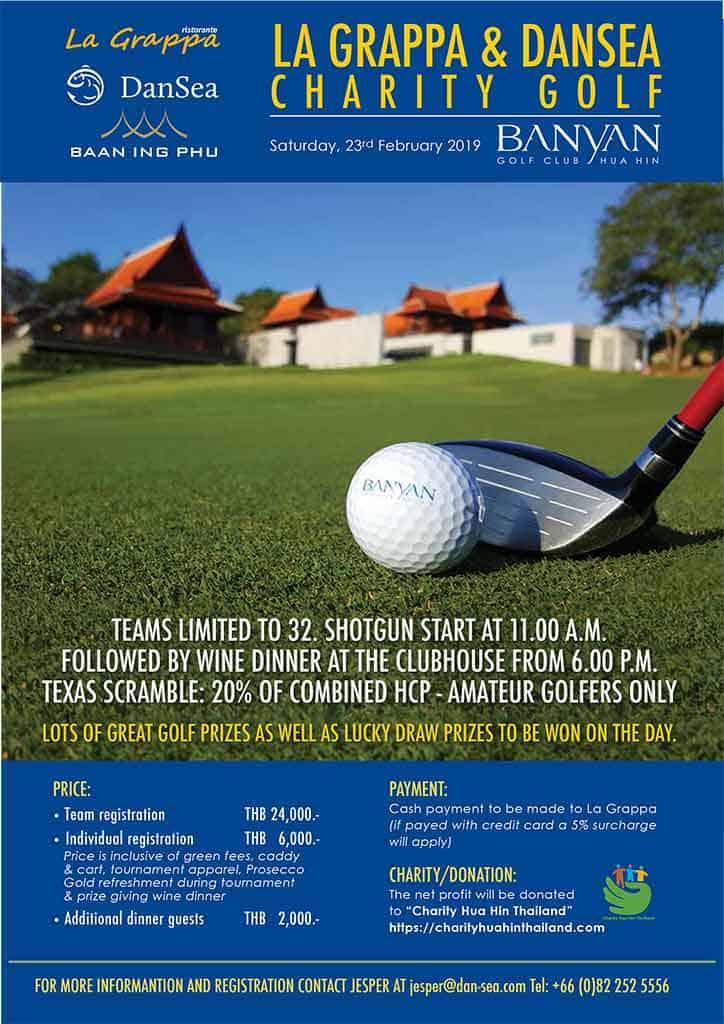 La Grappa Dansea Charity Golf